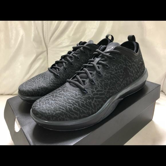 8db3173f711340 Nike Air Jordan Trainer 1 Low Black Anthracite New